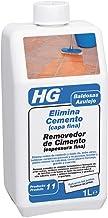 HG 101100130 Elimina cemento (capa fina) 1 L - el eliminador de lechada para todo tipo de baldosas y losetas, 1000 ml
