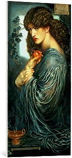 Kunst für Alle Reproduction sur Toile: Dante Charles Gabriel Rossetti Proserpina - Impression d'art de Haute qualité, Toil...