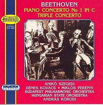 Beethoven: Piano Concerto No. 1 / Triple Concerto for Violin, Cello and Piano, Op. 56