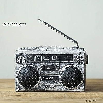 KAAK Multifuncional Máquina De Disco De Vinilo Moderna Radio ...