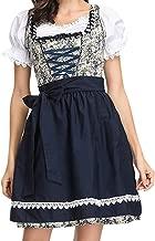 cutemom Women's Maidservant Dress Beer Festival Dress Bavarian Beer Girl Drindl Maid Dress Festival Cosplay Costumes