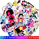 BLOUR 53PCS Pack   Steven Universe Stickers Set Toy Sticker para Equipaje Skateboard Laptop Motorcycle PVC Sticker