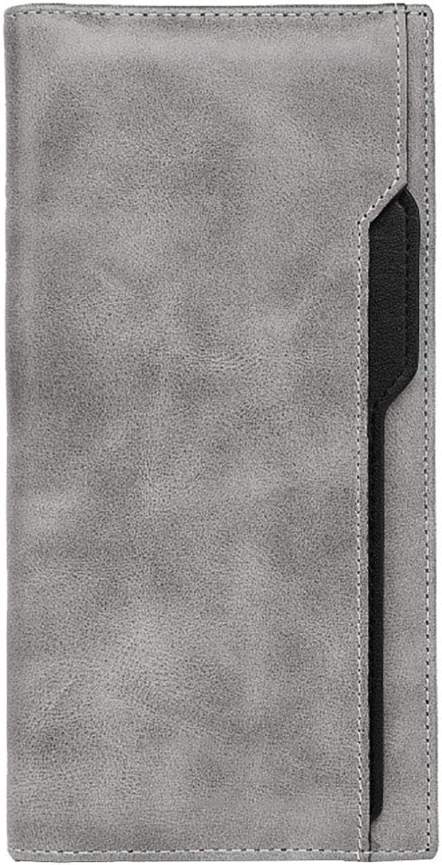 SHAN Wallet Herren-Lange Leder Falten Handtasche Jugendhandtasche Multi-Card Mit GroßEr GroßEr GroßEr KapazitäT Leder Kartenpaket B07JP7PWSQ b87e37