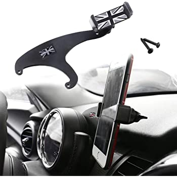 PGONE Behind Tachometer Mount Smart Phone GPS Mounting Design Holder Kit for Mini CooperF54 F55 F56 F57 Union Jack Black /& Grey Union Jack Flag Style