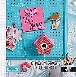 Schere, Stift, Papier