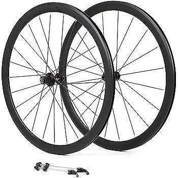 LIDAUTO Juego de Ruedas de aleación de Aluminio Bicicleta de ...