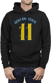 Mens golden-Splash-state-Brothers-30 Fleece Hooded Sweatshirt Powerblend
