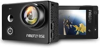 HawkEye Firefly 8SE con 2 pantalla táctil Ultra 4k/30fps WIFI Cámara Deportiva Cámara de Acción 170 grados de Gran Angular Cámara de Deporte Sumergible Hasta 20M. Sucesor de Firefly 8S