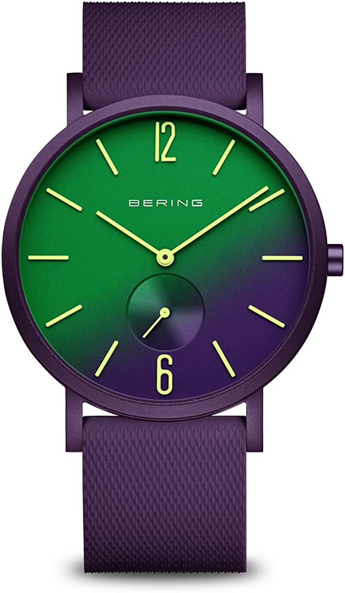 BERING Unisex quality assurance Analogue Quartz Watch 16940-999 Easy-to-use