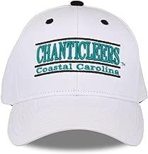 The Game NCAA Coastal Carolina Chanticleers Unisex NCAA bar Design Hat TCU, White, Adjustable
