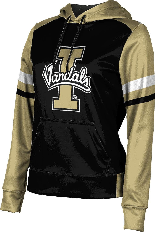 University of Idaho Girls' Pullover Hoodie, School Spirit Sweatshirt (Old School)
