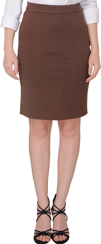 Marycrafts Women's Work Office Business Pencil Skirt