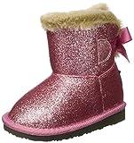 Conguitos Bota Australiana Glitter, Botas Bebé-Niñas, Rosa (Pink), 21 EU
