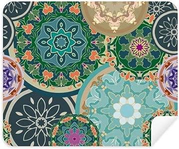 DIYthinker Printing Repeat Cloth Colorful Circular Art Phone Screen Cl...