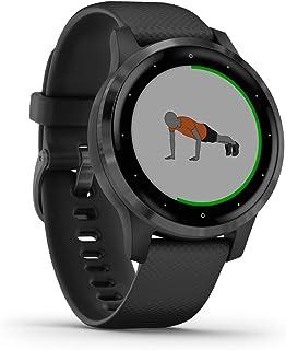 Garmin Vívoactive 4S, GPS-Smartwatch, Svart