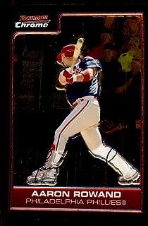2006 Bowman Chrome Baseball #91 Aaron Rowand Philadelphia Phillies