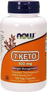NOW Supplements, 7-Keto 100 mg, 120 Veg Capsules