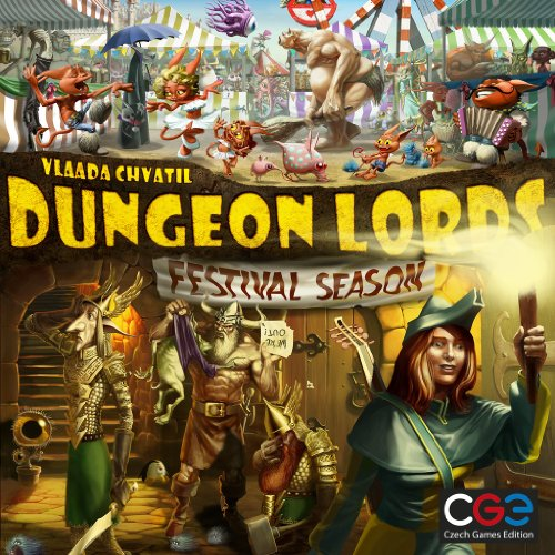 Z-Man Games Dungeon Lords Extension : Festival Season
