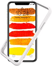 RhinoShield Ultra Protective Bumper Case for [ iPhone X/XS ] CrashGuard, Military Grade Drop Protection for Full Impact, Slim, Scratch Resistant, White