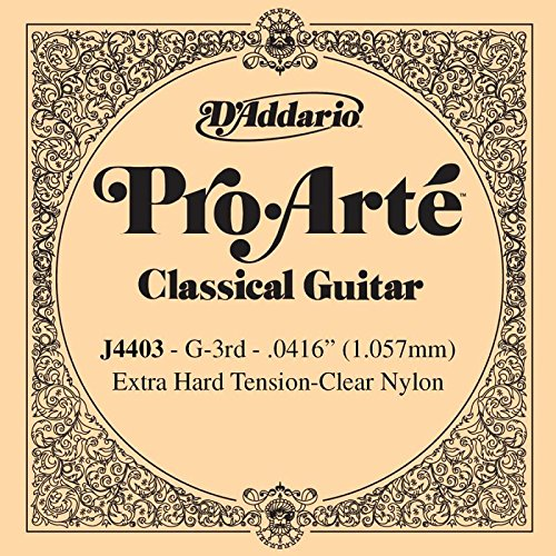 Losse snaren, Spaanse gitaar, serie Pro Arte G-3, nylon, extra sterk