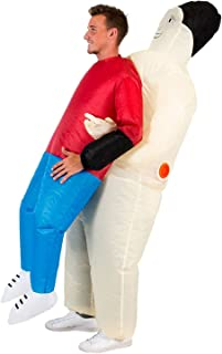 Hold Me Up Inflatable Chub Suit Costume