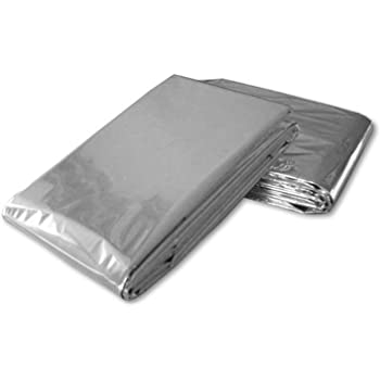 "Emergency Mylar Blanket 52"" x 84"" - Pack of 12 Blankets"