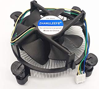 Ersatz CPU Kühler mit Kühlkörper für Intel LGA1150 LGA1151 LGA1155 LGA1156 Sockel Celeron/Pentium/i3/i5/i7 Prozessoren Serie Lüfter E97379 003 CNDP751K50 DTC DAB16 DC12V 0.60 4 polig.