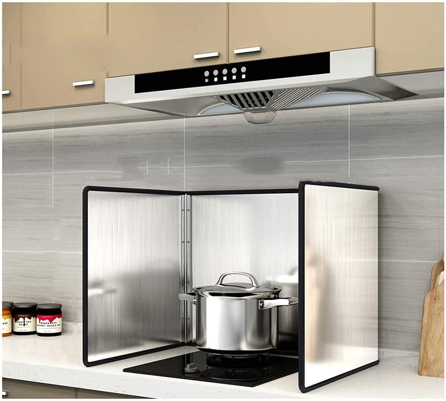 Max 40% OFF FANNISS Splatter guardKitchen Foil Animer and price revision Splat Screens3 Sided