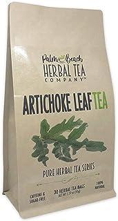 Artichoke Leaf Tea - Pure Herbal Tea Series by Palm Beach Herbal Tea Company (30 Tea Bags) 100% Natural