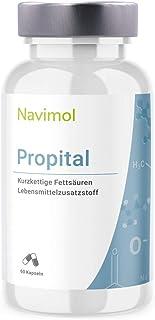 Propital Propital - 60 Kapseln | 500mg Natriumpropionat pro Kapsel | Das reine Salz der Propionsäure | Lebensmittelzusatzstoff | Qualität aus Deutschland
