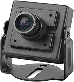 BW 700TVL - Mini cámara de seguridad con lente de 3,6 mm Sony CCD EFFIO-E, color negro
