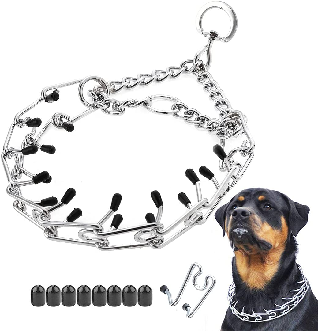 Mayerzon Dog Prong Collar Classic Choke Pinch Challenge the lowest price of Japan Stainless D Low price Steel