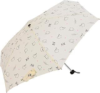 Nifty Colors(ニフティカラーズ) 折りたたみ傘 エナガ5段ミニ オフホワイト