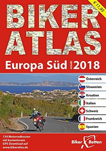 Biker Atlas EUROPA 2018