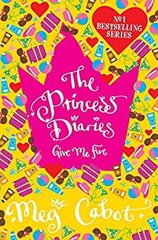 Paperback The Princess Diaries : Give Me Five Book