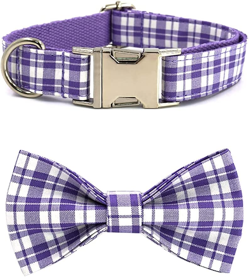 Chmehd Bowtie Dog Collar Adjustable Collars Sma Tie Bow with for Product Popular shop is the lowest price challenge