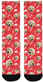 Customized Dog Socks Custom Pet Socks Turn your Dog Picture into Custom Socks Cat Socks Unisex
