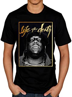 Official Biggie Smalls Life After Death Gold T-Shirt