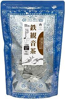 Tokyo Tea Trading 鉄観音茶 中国茶 烏龍茶 台湾茶 カップ&マイボトル用 ティーバッグ 1.5g×120P【お得用 まとめ買い 業務用】