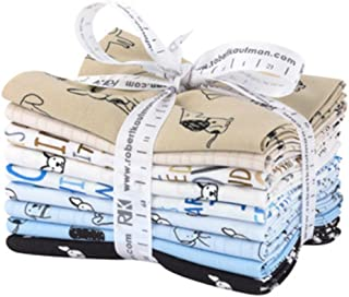 Whiskers /& Tails Cats Palette 11 Fat Quarter Bundle by Amylee Weeks for Robert Kaufman FQ-1402-11
