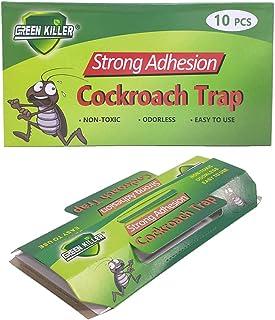 Nature Dream 10psc Non-Toxic Cockroach Trap Repellent Anti Mosquito Cockroach Repeller Killer Bait Trap Control Sticker Pe...
