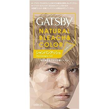 GATSBY(ギャツビー) ナチュラルブリーチカラー (医薬部外品) ハイトーン シャンパンアッシュ 1個