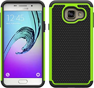 32nd Shockproof Defender Case Cover for Samsung Galaxy A3 (2016) - Green