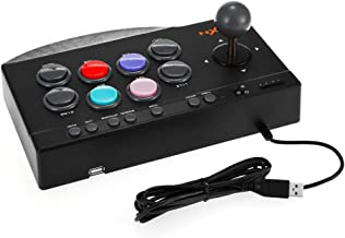 SUNCHI 5 in 1 Arcade Fight Stick Joystick Gamepads Game Controller for PS3 / PS4 / Xbox One / PC / Android Device Fighting Games