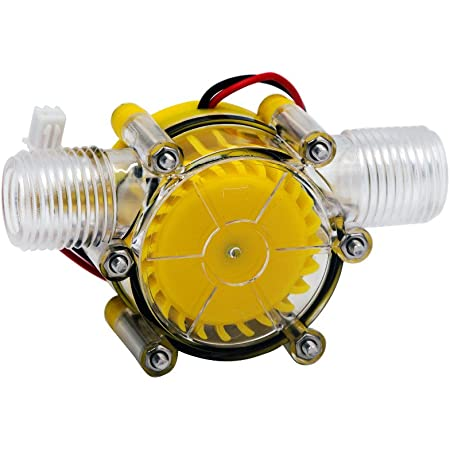 Wasserradgenerator-Ladewerkzeug Gr/ö/ße : 5V Wasserkraftgenerator Mikro-Wasserturbinengenerator
