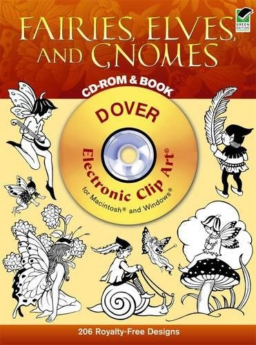 Compare Textbook Prices for Fairies, Elves, and Gnomes CD-ROM and Book Dover Electronic Clip Art Pap/Cdr Edition ISBN 9780486996929 by Marty Noble