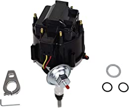 Best A-Team Performance HEI Complete Distributor 65K Coil Straight 6 41-62 194, 216, 235, 68-87 Compatible with Early Chevrolet Land Cruiser FJ40 FJ60 2F 3F One Wire Installation Black Cap Review