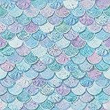 Arthouse Mermazing Scales - Papel pintado, color azul