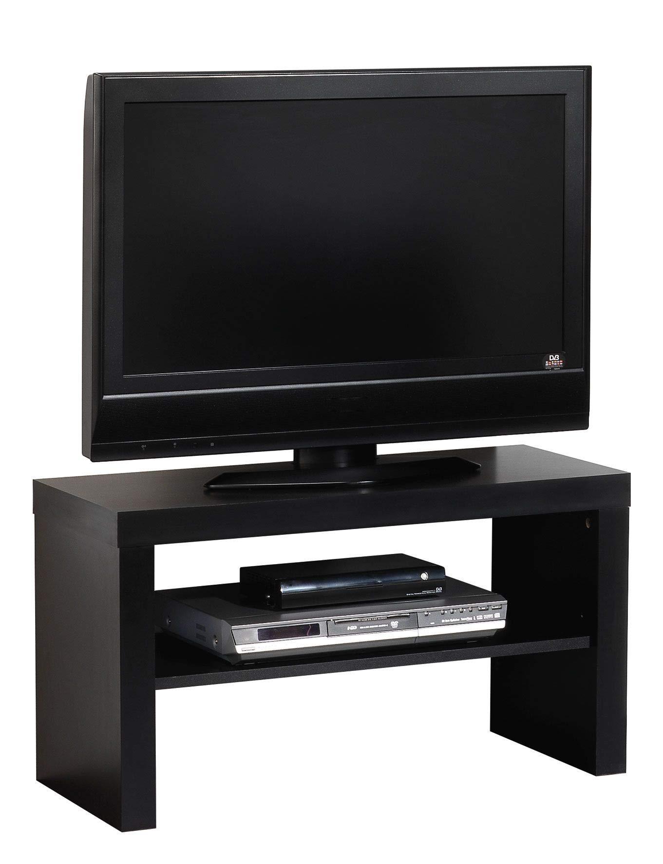 Miroytengo Mueble TV Salon TREC modulo bajo Multimedia Estilo Moderno Color Negro Comedor melamina 40x80x40 cm: Amazon.es: Hogar