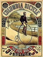 ファーシング自転車アメリカ広告ポスターレトロプリント12 x 16平行輸入